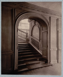 Ashburnham House, The Staircase From Hall